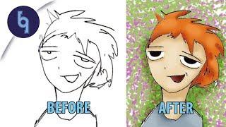 Photoshop Dersi: İllustrasyon Boyama / Renklendirme