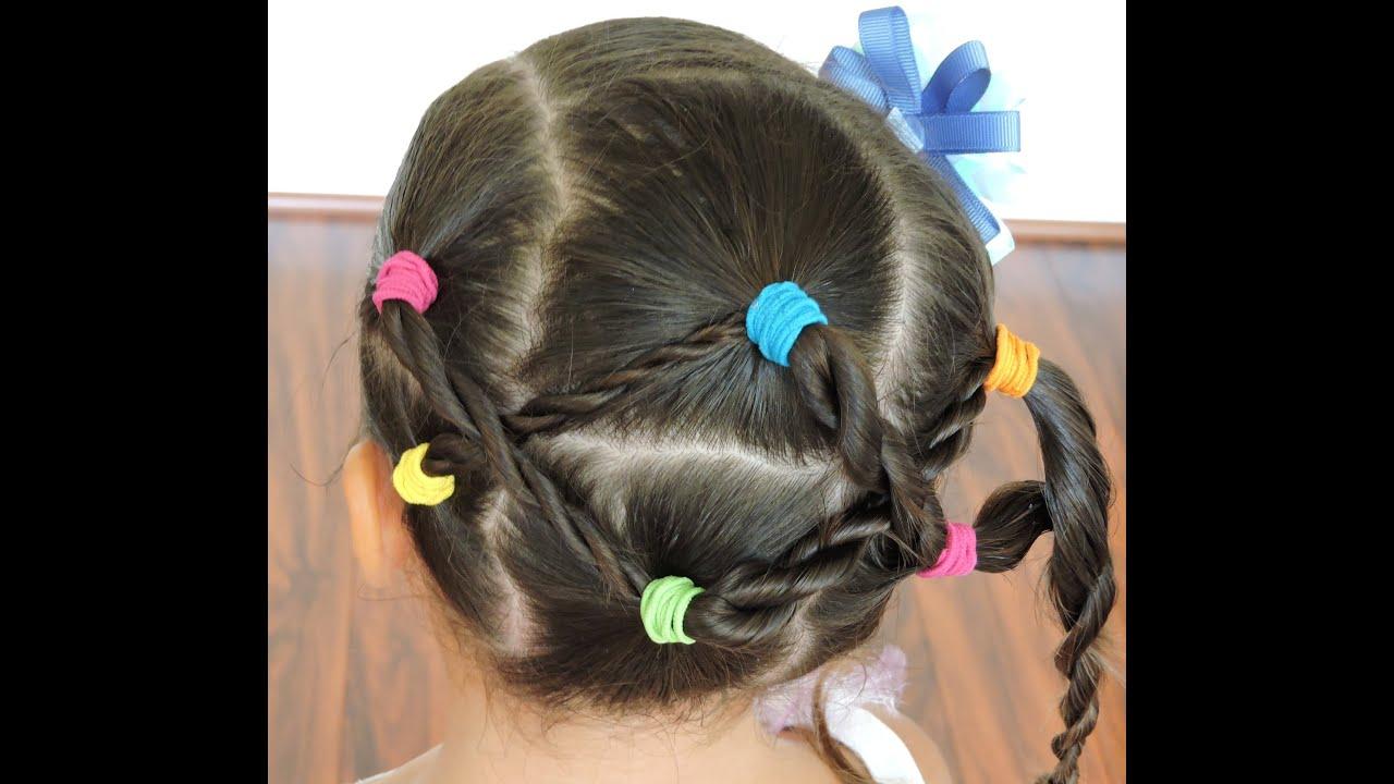 Peinados infantiles faciles videos