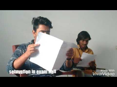 Setuvation in exam hall be like