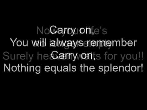 Carry On My Wayward Son By Kansas Lyrics Youtube