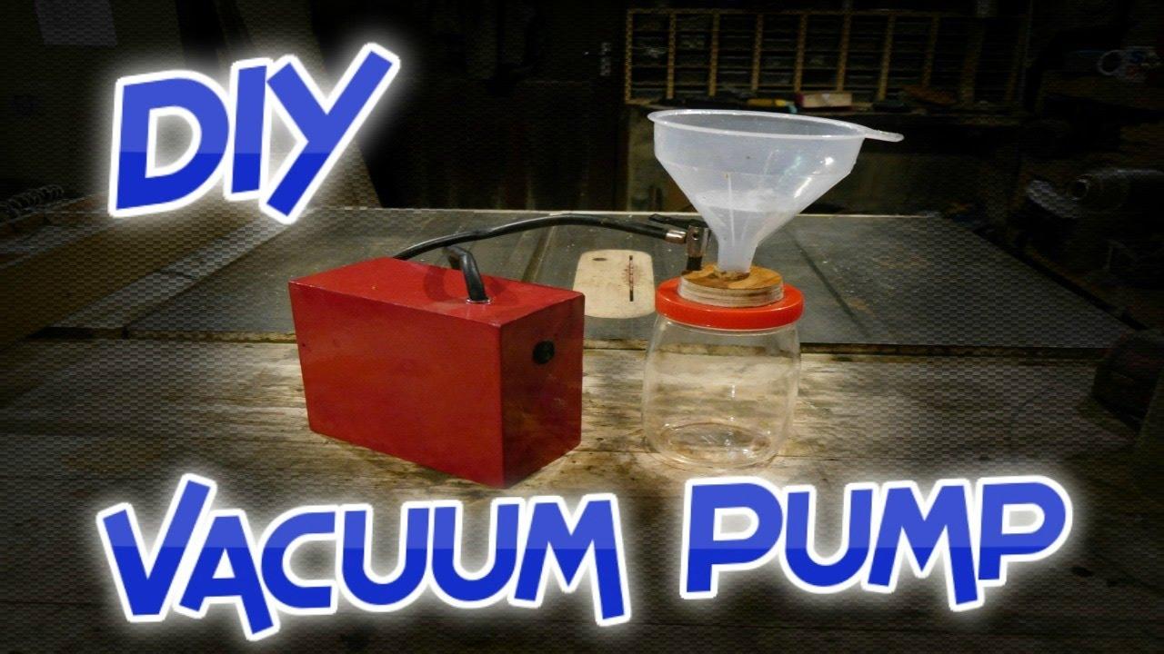How to make a Multipurpose Vacuum Pump & a Buchner Funnel