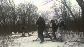 Бой спецназа ДНР вo3лe Мapьинkи. 15.01.2015. Ополчение Донбасса.