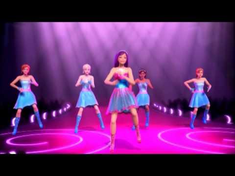Barbie La Principessa et la Popstar - Sono Qui/Le Principesse Voglion Giocar (Video Musicale)