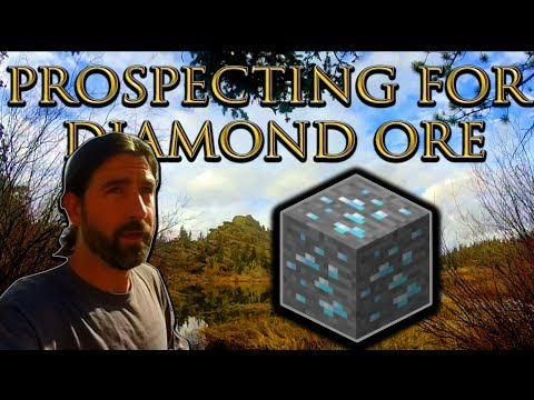 Prospecting for Diamond Ore - Real Life / Not Minecraft - Searching for Kimberlites