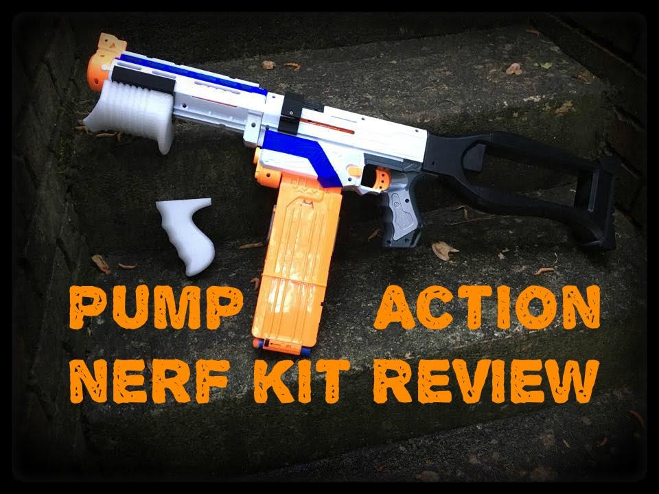 Honest Review: Pump Action Nerf Retaliator Kit by HeartFoxxNerf