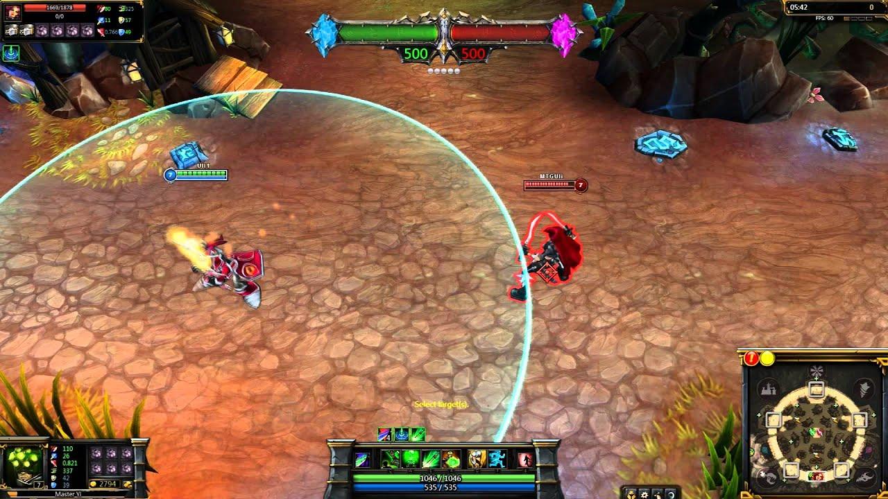 (OLD) - Ionia Master Yi League of Legends Skin Spotlight