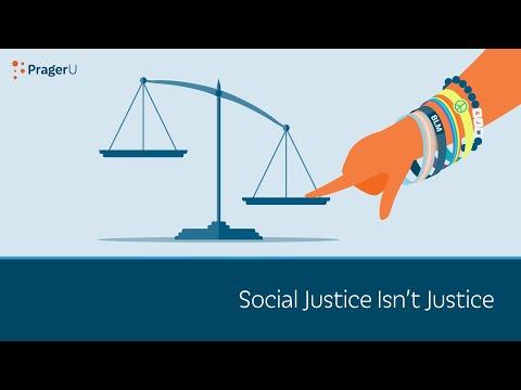 Social Justice Isn't Justice