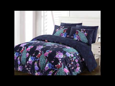 peacock-with-flowers-navy-duvet-cover-set