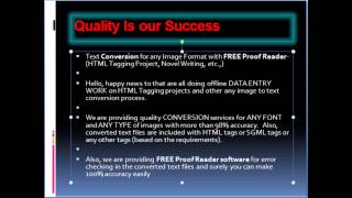 Proof Reading Software Demo