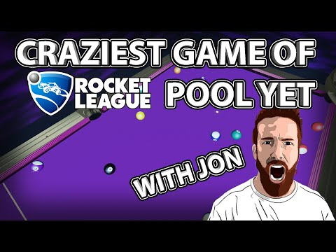 LONGEST and MOST INSANE Game of Rocket League Pool with Jon! thumbnail