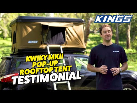 An Expert Review On The New Kwiky Mkii Hard Shell Rooftop Tent Watch Before You Buy Youtube