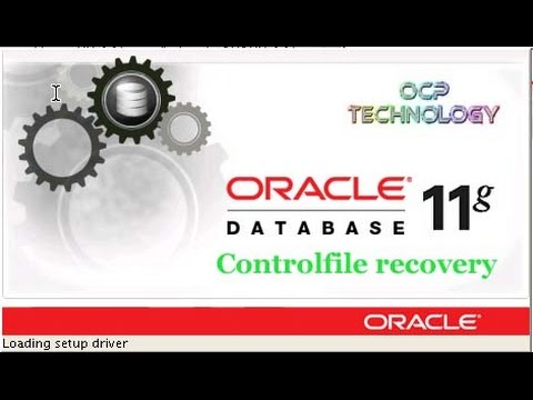 How to recover controlfile through trace file in ORACLE 11g in HIndi