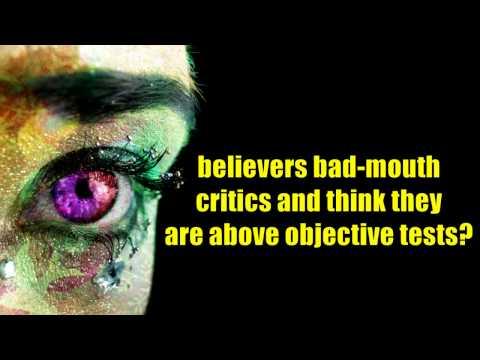JREF paranormal challenge Vs  Psychic Believers