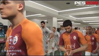PES 2019 | UEFA Champions League | Galatasaray vs Lokomotiv | Gameplay PS4
