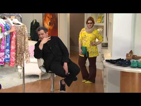 Isaac Mizrahi Fights With QVC Co-Host!