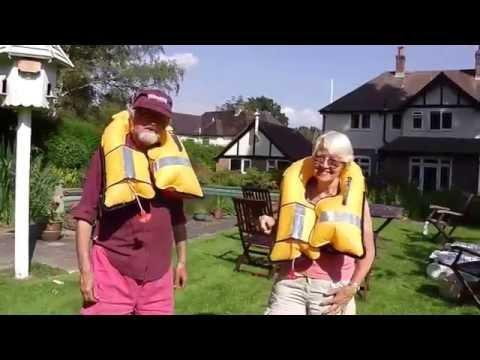 Tammy Norie lifejacket test