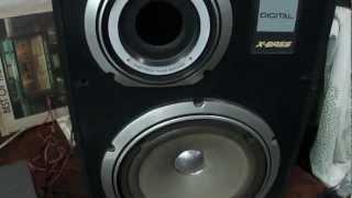 O Rei do Som - Caixas Acusticas de Som Sharp CP-77