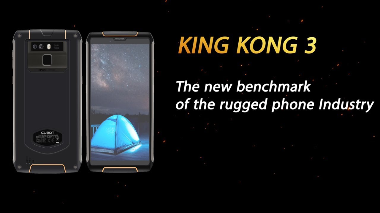 CUBOT King Kong 3 promotion video - YouTube