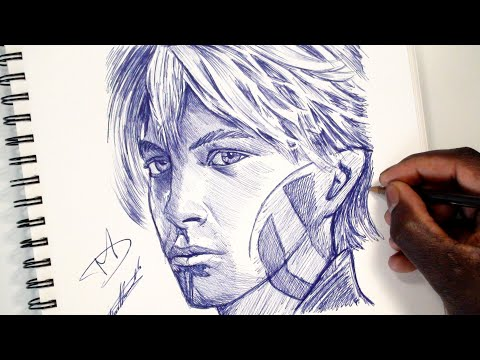 HOW TO DRAW PARZIVAL (Wade Watts) - READY PLAYER ONE