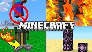 Minecraft 1.2 - 6 SECRET FEATURES (Minecraft tips, tricks, facts and glitches)