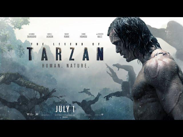 Ο Θρύλος του Ταρζάν (The Legend of Tarzan) - Trailer 2 (Gr Subs)