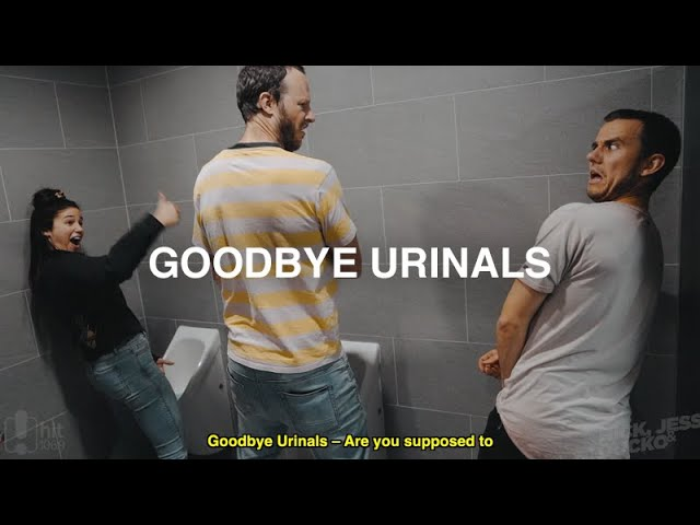 GOODBYE URINALS | Nick, Jess & Ducko - Hit106.9 Newcastle