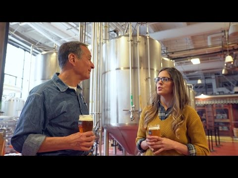 Making Beer with Sam Adams