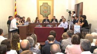 Ple de constitució de la corporació municipal 2015-19 i elecció de l