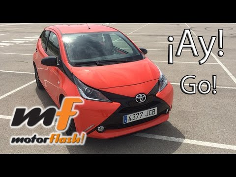 Prueba Toyota Aygo x-cite 1 0 2015