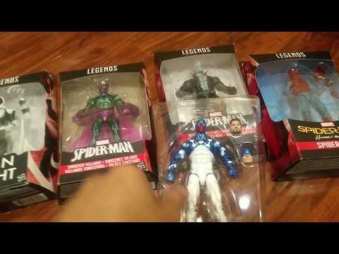 Spiderman Homecoming Marvel Legends Haul