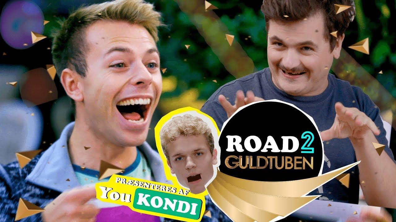 Er de overhovedet venner? SpørgCasper VS Morten Münster | ROAD 2 GULDTUBEN med Rasmus Brohave