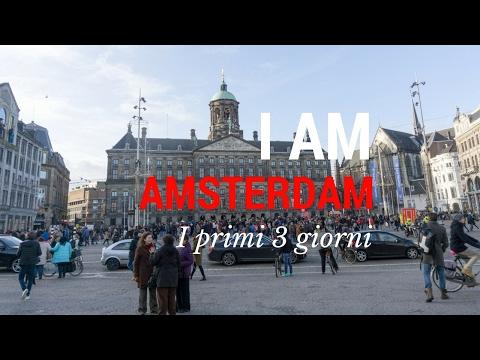 AMSTERDAM Dam BloemenMarkt Rijksmuseum