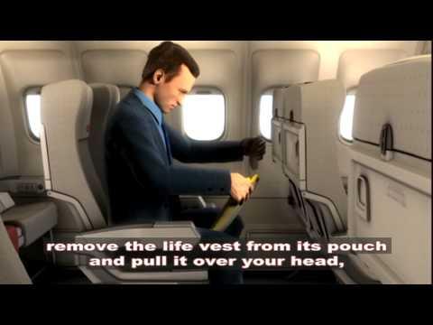 Royal Jordanian Safety Video A340 16:9 test