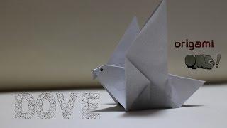 OMG ! Easy but cool Origami - Dove |  สอนพับกระดาษง่ายๆ