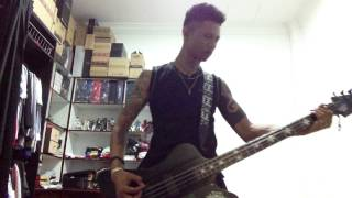 NEW TATTOO by motley crue BASS COVER