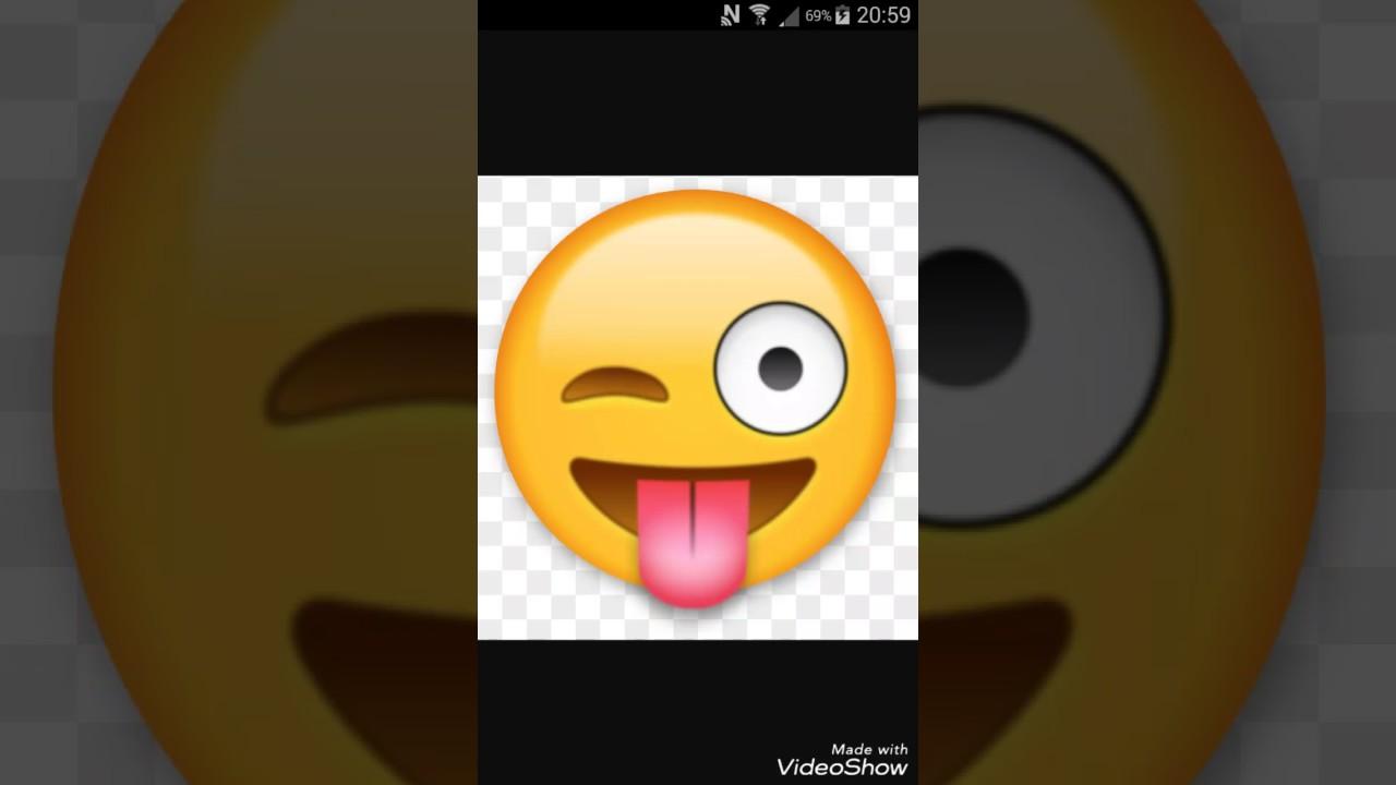 Smiley Qui Tire La Langue Youtube