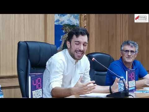 Presentación novela Cándido Paniagüa