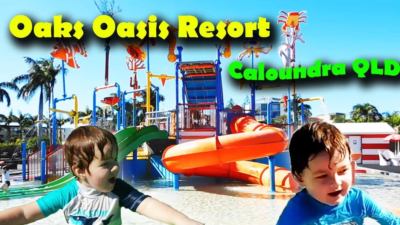 oaks oasis resort caloundra water park youtube. Black Bedroom Furniture Sets. Home Design Ideas
