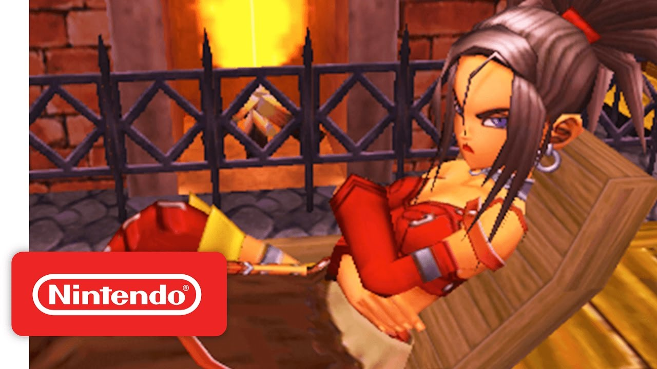 dragon quest 8 red