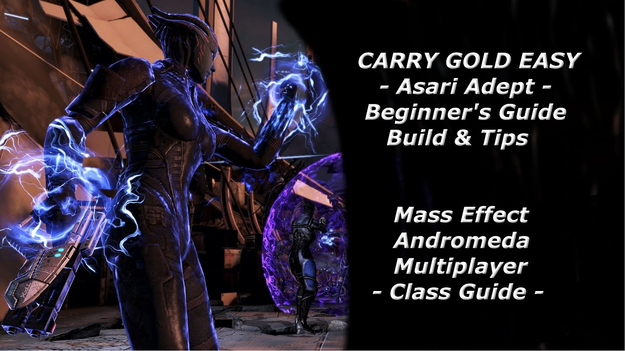 Mass Effect  Adept Build Guide