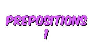 7dk da PREPOSITIONS