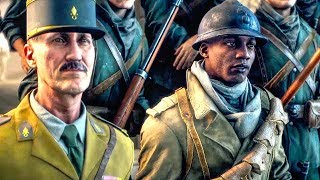 BATTLEFIELD 5 Tirailleur Story All Cutscenes Movie