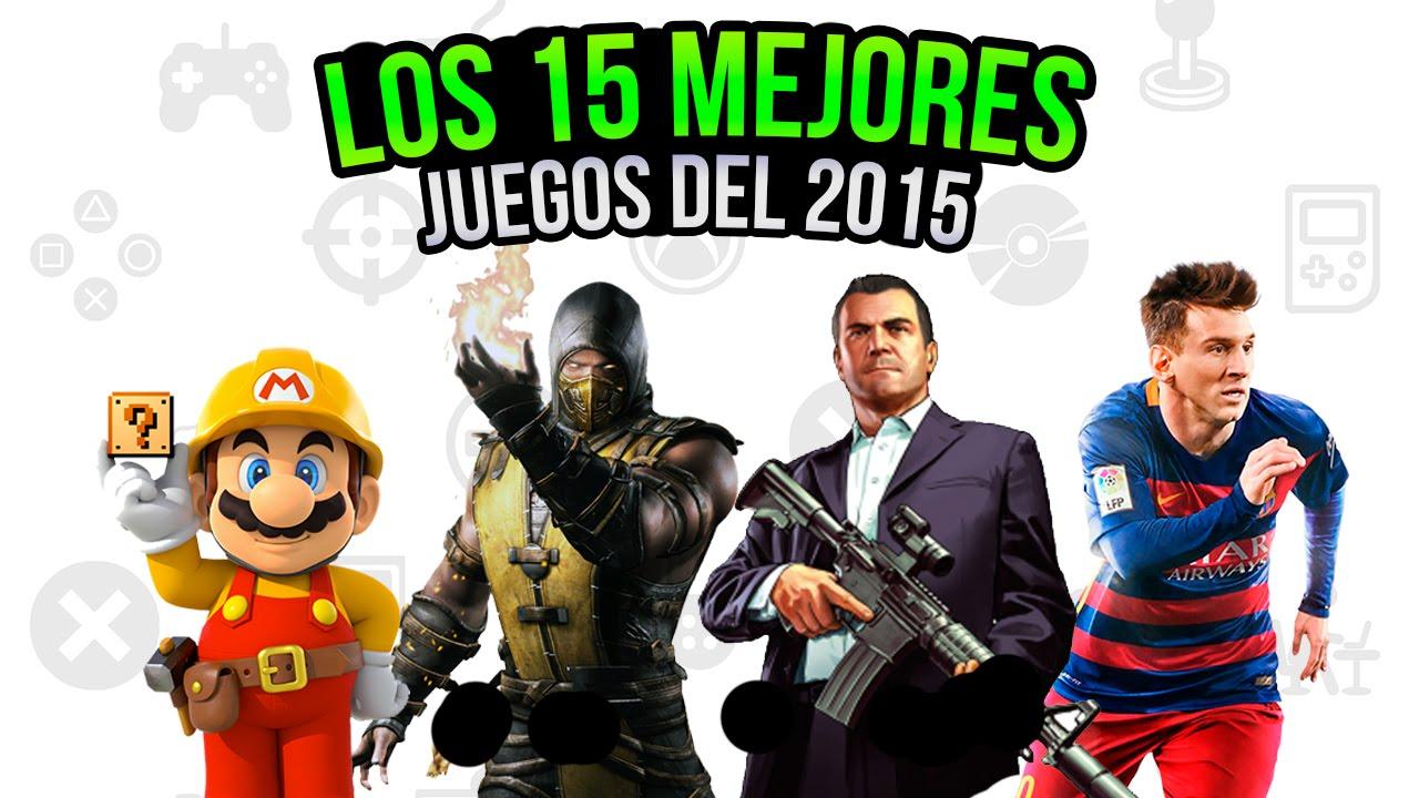 Los 15 Mejores Juegos Del 2015 2016 Youtube
