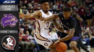 Western Carolina vs. Florida State Condensed Game | ACC Men's Basketball 2019-20