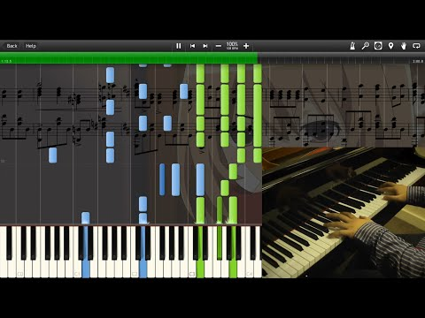Holy Night - Toradora! - Synthesia Piano Cover (Theishter)