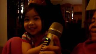 cutie pie karaoke!!! tressa style