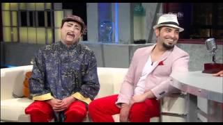 Un artista por todo lo alto Alain Pérez, y el chino bachatero, con Alexis Valdés