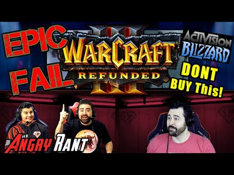 Warcraft 3 Reforged, DO NOT BUY! - Angry Rant!