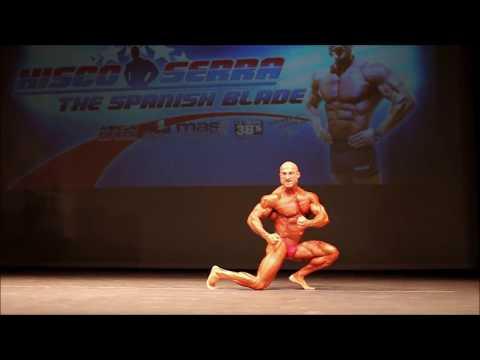 Exhibición Xisco Serra en el Campeonato de Baleares IFBB 2015