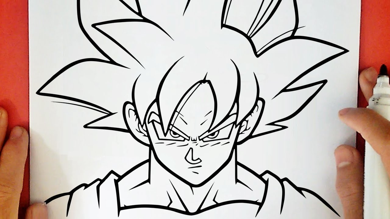 50 Imágenes De Goku Para Dibujar: COMO DIBUJAR A GOKU ULTRA INSTINTO DOMINADO